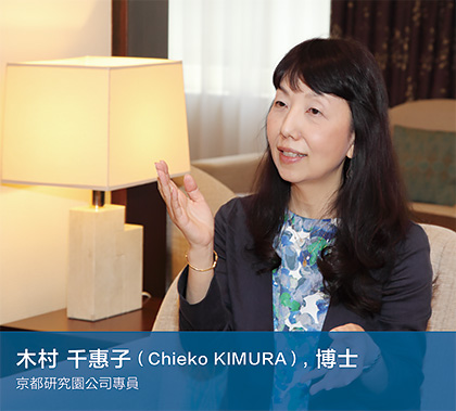 Chieko KIMURA, PhD EXECUTIVE OFFICER KYOTO RESEARCH PARK CORP.